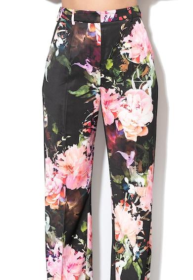 GUESS BY MARCIANO Virágmintás loose fit nadrág női