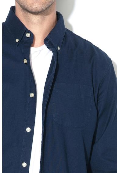 GAP Риза с копчета на яката Мъже