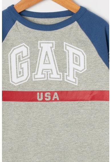 GAP Блуза с цветен блок и лого Момчета