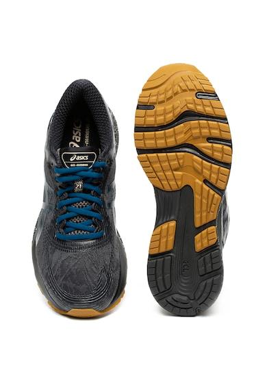 Asics Pantofi cu talpa contrastanta, pentru alergare Gel-Nimbus™ 21 Winterized Barbati