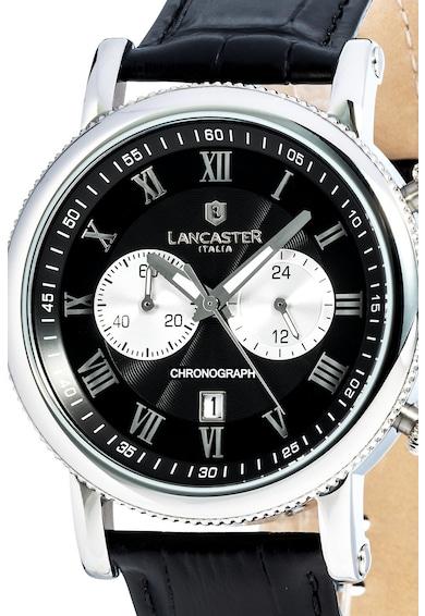Lancaster Часовник с кожена каишка Мъже