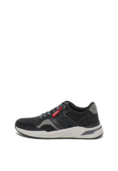 s.Oliver Велурени спортни обувки с лого Мъже
