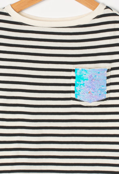 GAP Tricou cu paiete reversibile Fete