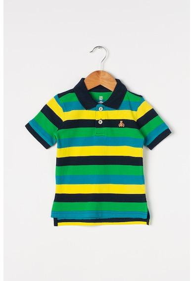 GAP Tricou polo cu model in dungi Baieti