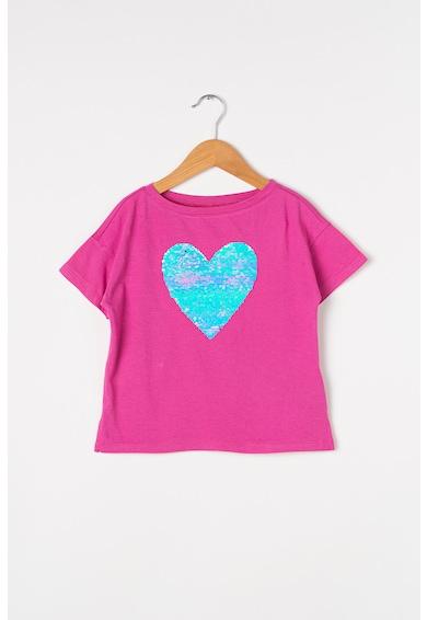 GAP Тениска с двулицеви пайети Момичета