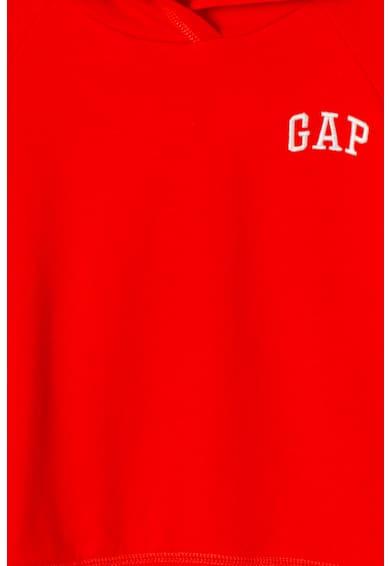 GAP Hanorac cu logo brodat si captuseala din fleece Fete