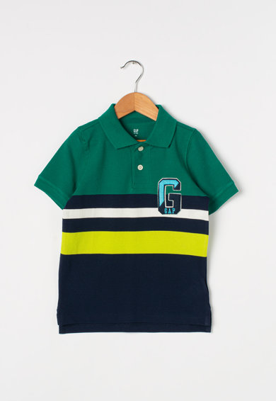 GAP Tricou polo cu aplicatie logo Baieti