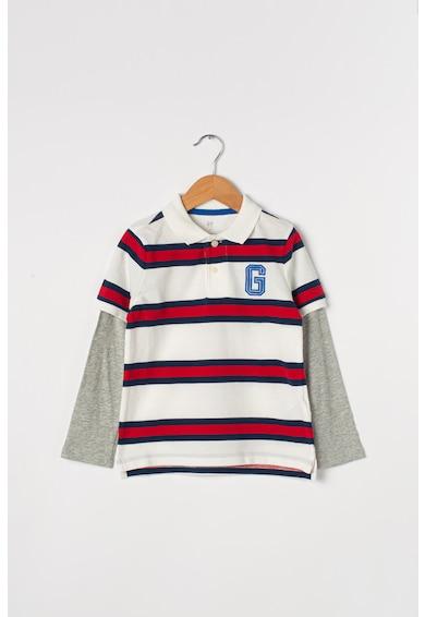 GAP Bluza polo cu aspect 2in1 Baieti