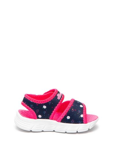 Skechers Sandale cu velcro C-Flex Shine Star Fete