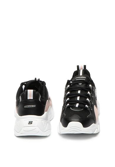 Skechers Спортни обувки D-Lites 3.0 от кожа и текстил Жени