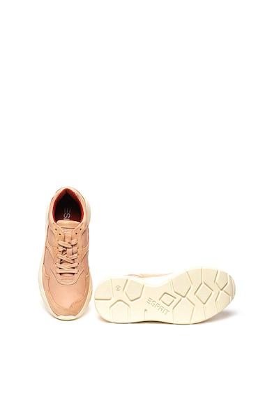 Esprit Pantofi sport cu insertii de piele intoarsa Femei