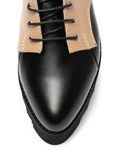Mihaela Glavan Pantofi de piele cu talpa cu striatii Femei