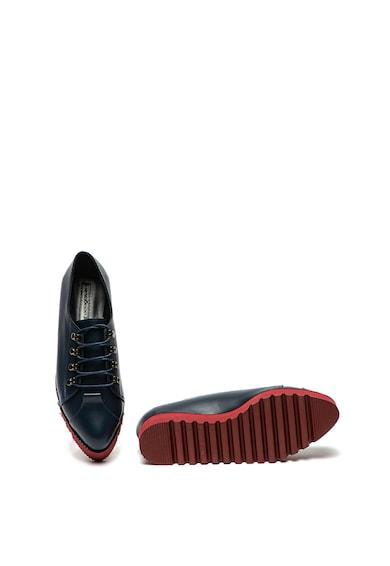 Mihaela Glavan Pantofi casual de piele, cu talpa cu striatii Femei