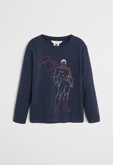 Mango Pijama cu tematica Superman Baieti