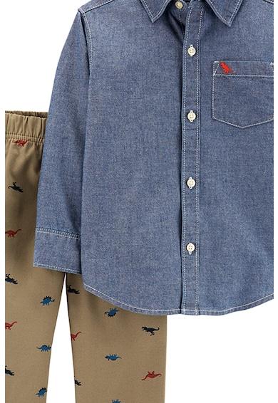 Carter's Set de camasa din chambray si pantaloni, 2 piese Baieti