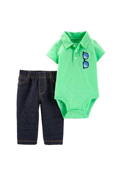 Carter's Боди с яка и панталон Момчета