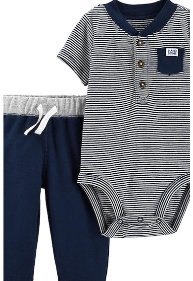 Carter's Комплект раирано боди и панталон - 2 части Момчета