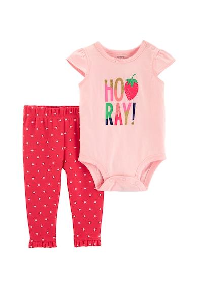 Carter's Комплект боди и панталон - 2 части Момичета
