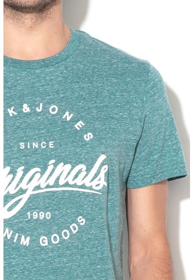 Jack&Jones Tricou regular fit cu imprimeu logo Kemble Barbati