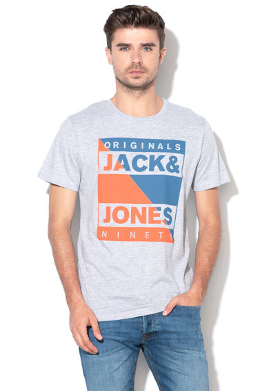 Jack&Jones Tricou regular fit, cu imprimeu logo Antwon Barbati