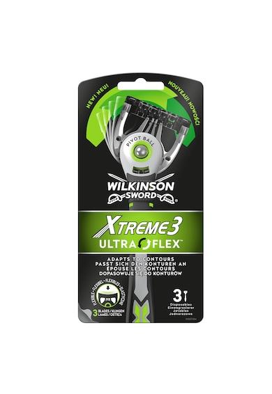 Wilkinson Aparat de ras  Xtreme3 Ultra Flex, Barbati, 3 buc Femei