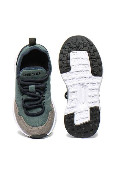 Diesel Спортни обувки от велур и текстил Момичета