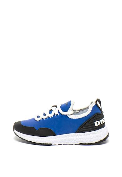 Diesel Спортни обувки от велур и текстил с лого Момичета