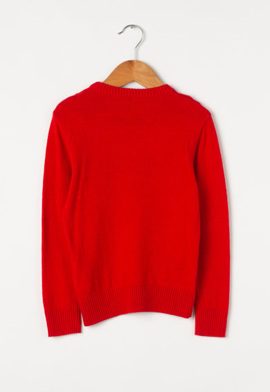 Diesel Пуловер Krenoir с вълна и текстова шарка Момчета
