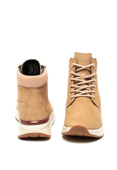 Lumberjack Pantofi sport inalti de piele nabuc Meryl Femei
