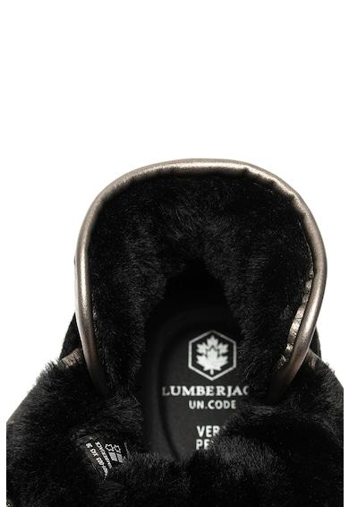 Lumberjack Ghete cu garnituri de piele Lisbeth Femei