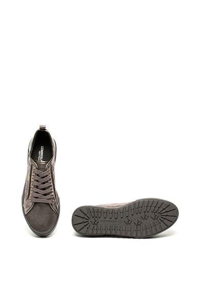 Lumberjack Pantofi sport flatform cu garnituri de piele intoarsa Kally Femei