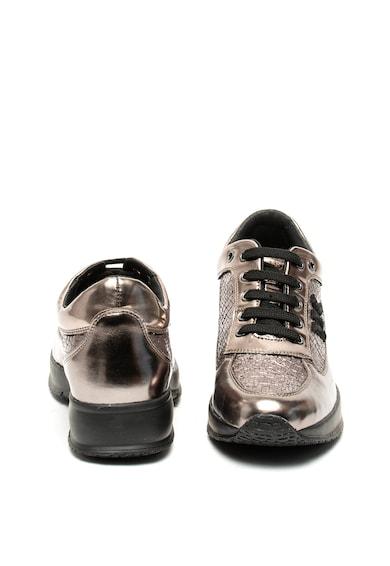Lumberjack Raul fémes hatású műbőr sneaker női