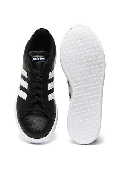 adidas Performance Pantofi sport de piele Grand Court Barbati