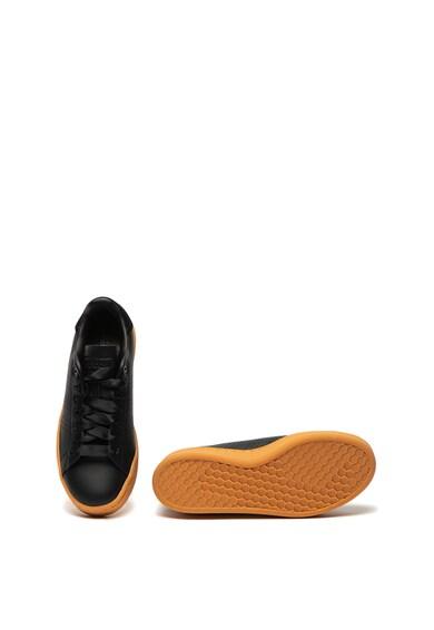 Adidas PERFORMANCE Pantofi sport cu garnituri de piele peliculizata Advantage Bold Femei