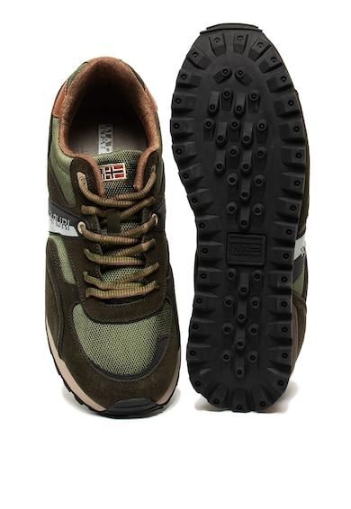 Napapijri Frise sneaker nyersbőr betétekkel férfi