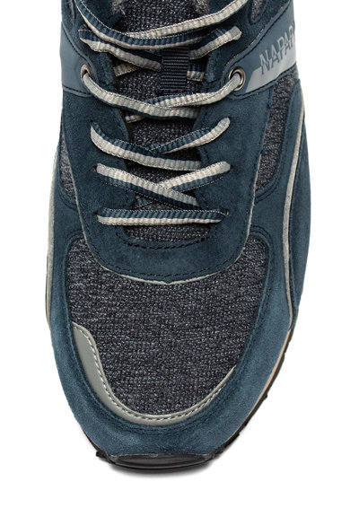 Napapijri Pantofi sport cu garnituri de piele intoarsa Barbati