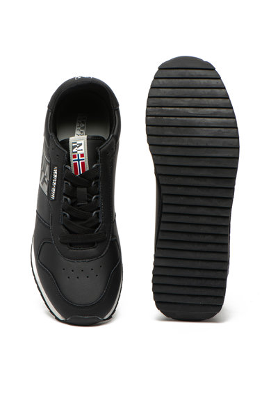 Napapijri Pantofi sport de piele ecologica si garnituri de piele intoarsa Virtus Barbati