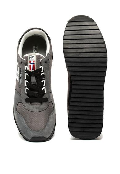 Napapijri Pantofi sport cu insertii de piele intoarsa Castlerock Barbati