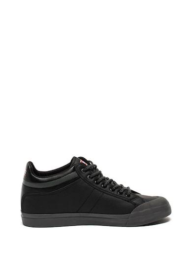 Napapijri Pantofi sport de piele cu logo Barbati