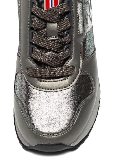 Napapijri Pantofi sport de piele ecologica, cu logo Vicky Femei