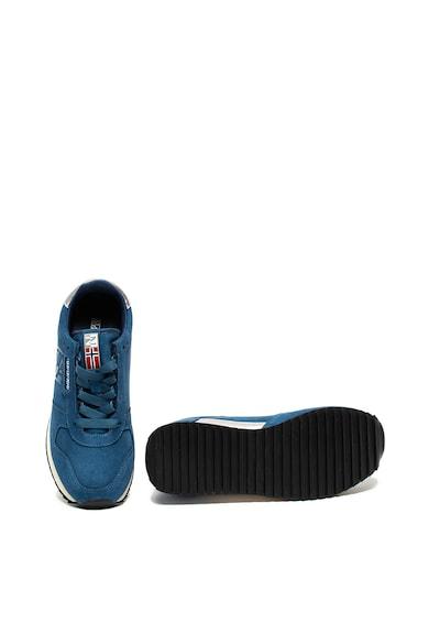 Napapijri Pantofi sport de piele intoarsa cu garnituri de piele ecologica Vicky Femei