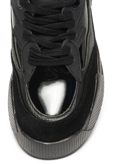 Napapijri Pantofi sport cu insertii de piele lacuita Blanche Femei
