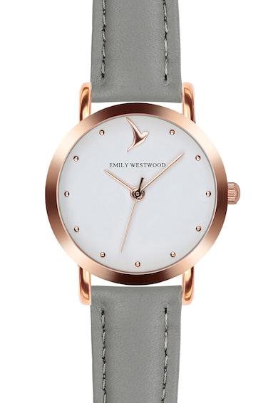 Emily Westwood Часовник с кожена каишка Жени