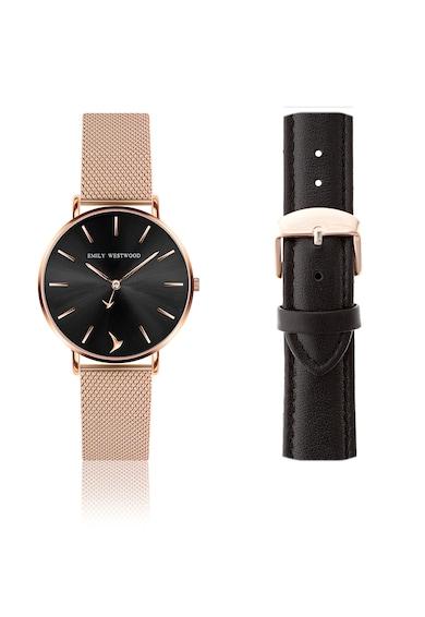 Emily Westwood Часовник от неръждаема стомана със сменяема каишка Жени
