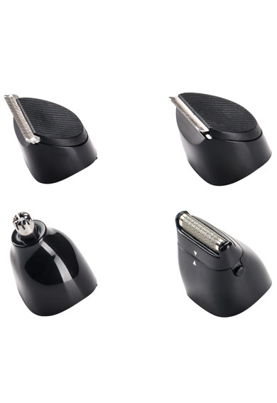 BaByliss Aparat de tuns barba si parul 8 in 1  Multigroom , acumulator,8 accesorii si suport de incarcare, Negru BaByliss Barbati