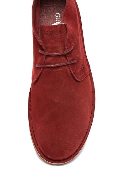 Guess Кожени обувки с овален връх Мъже