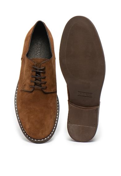 Guess Велурени обувки Derby Мъже