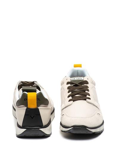 Diesel Pantofi sport cu insertii de piele intoarsa RV Barbati