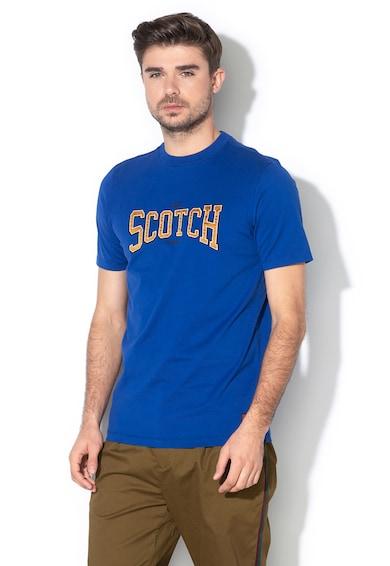 Scotch & Soda Tricou regular fit, cu aplicatie logo Barbati
