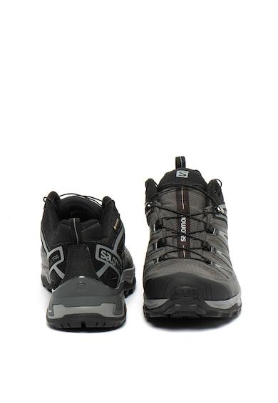 Salomon Pantofi sport cu detalii din material textil, pentru drumetii Ultra 3 GTX Barbati